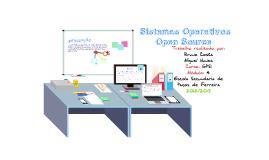 Copy of  Sistemas Operativos Open Source