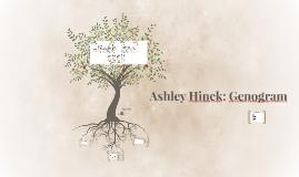 Ashley Hinck: Genogram