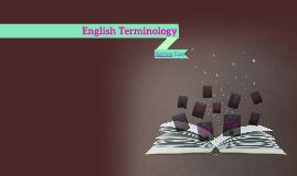 English Terminology
