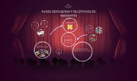 Copy of PAÍSES EXPULSORES Y RECEPTORES DE MIGRANTES