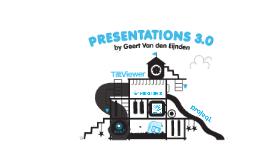 Presenting 3.0: the digital playground