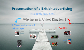 Presentation of a British advertising