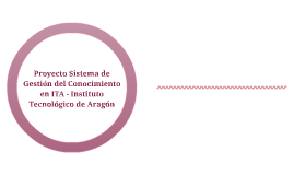Proyecto Sistema de Gestión del Conocimiento en ITA - Instit
