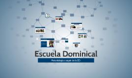 Copy of Metodologia para la realización de la Escuela Dominical.