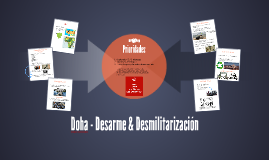 Doha - Desarme & Desmilitarizacion