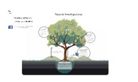 Copy of Tipos de Investigaciones