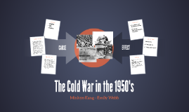 The Cold War in the 1950's
