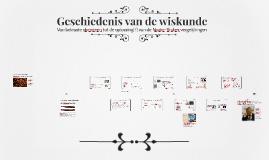 Geschiedenis van de wiskunde