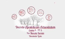 Decreto Apostolicam Actuositatem