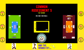 Common Assessment 5 Review