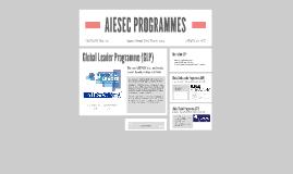 AIESEC PROGRAMMES