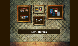 Mrs. Haines
