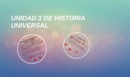 UNIDAD 3 DE HISTORIA UNIVERSAL