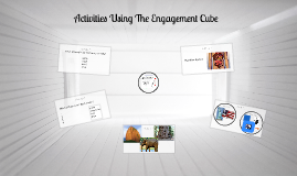 Activities Using The Engagement Cube