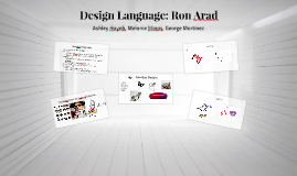 Copy of Design Language: Ron Arad