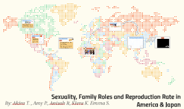 Sexuality, Family Roles and Reproduction Rate in America & J