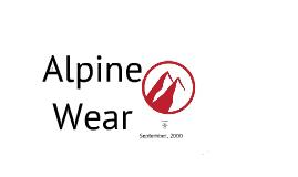 Copy of FIN 340 Alpine Wear