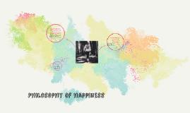 Philosophy of happiness