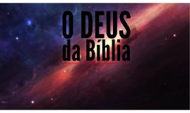O Deus da Bíblia
