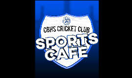CBHS Sports Cafe 2016