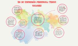 Copy of EN MI ECONOMIA PERSONAL: TENGO VALORES