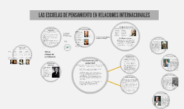 LAS ESCUELAS DE PENSAMIENTO EN RELACIONES INTERNACIONALES