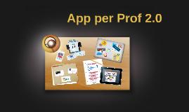 App per prof 2.0