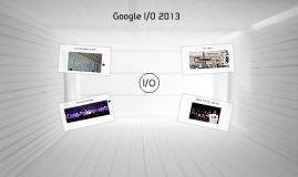 Google I/O 2013 참관기