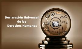 Declaraciónn Universal de los