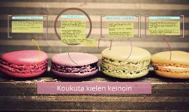 Koukuta kielen keinoin / Kolumnityöpaja bloggaajille 6.7.2013 (Biogen Idec)