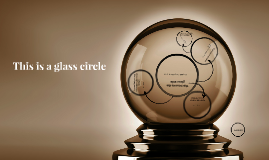 This is a glass circle