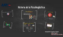 Historia de la Psicolingüística