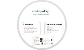 Mediápolis - Carta de presentación