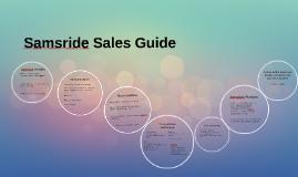 Samsride Features and Competition