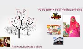 Copy of PERUBAHAN SYKT FAIZA SDN BHD