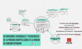 Copy of ALTERACIONES SENSORIALES Y PSICOLÓGICAS DE LA PERSONA HOSPIT