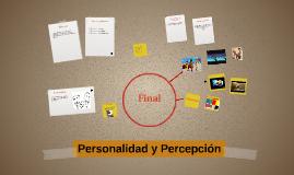 Personalidad y Percepción