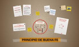 PRINCIPIO DE BUENA FE