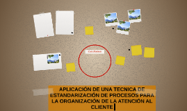 APLICACIÓN DE UNA TECNICA DE ESTANDARIZACIÓN