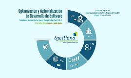 Tgestiona: Optimización y Automatización de Software