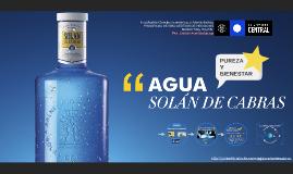 """Aguas """"Solán de Cabras"""""""