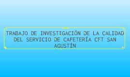 Evaluación Servicio Cafetería
