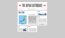 THE JAPAN EARTHQUAKE