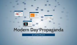 Modern Day Propoganda