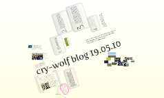 cry-wolf blog 19.05.10 - Afterword on the recent BBC Alba TV broadcast about wolfdogs