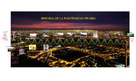Historia de la Electricidad en Lima
