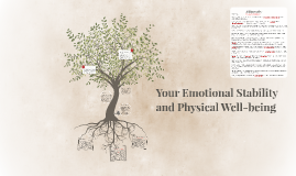 Your Emotional Stability and Physical Well-being