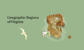 Geographic Regions Virginia
