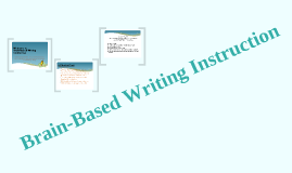 Brain-based Writing Instruction for Parent Educators