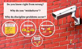 Why do discipline problems occur?